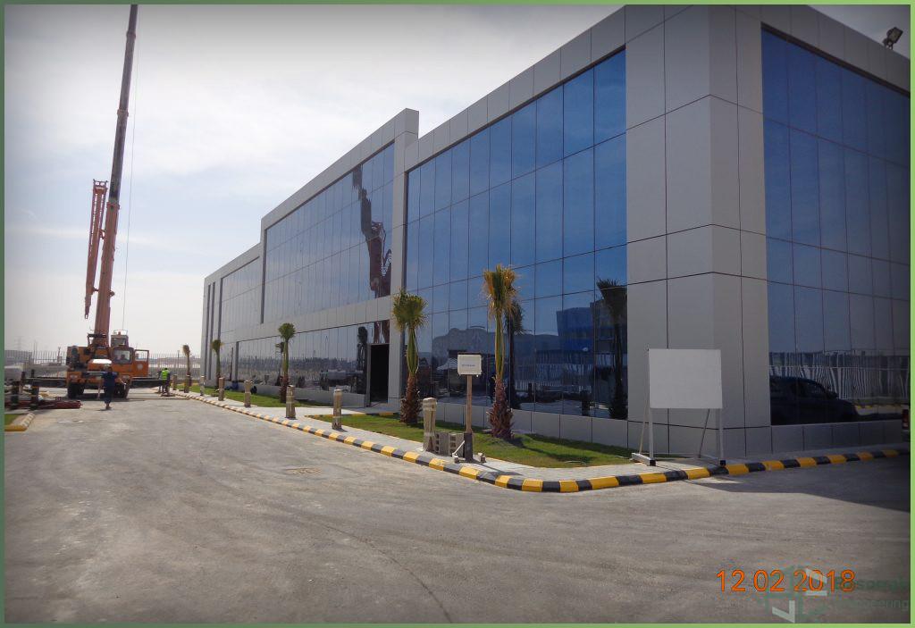 مصنع شركة الكترونيات الطاقة العربية