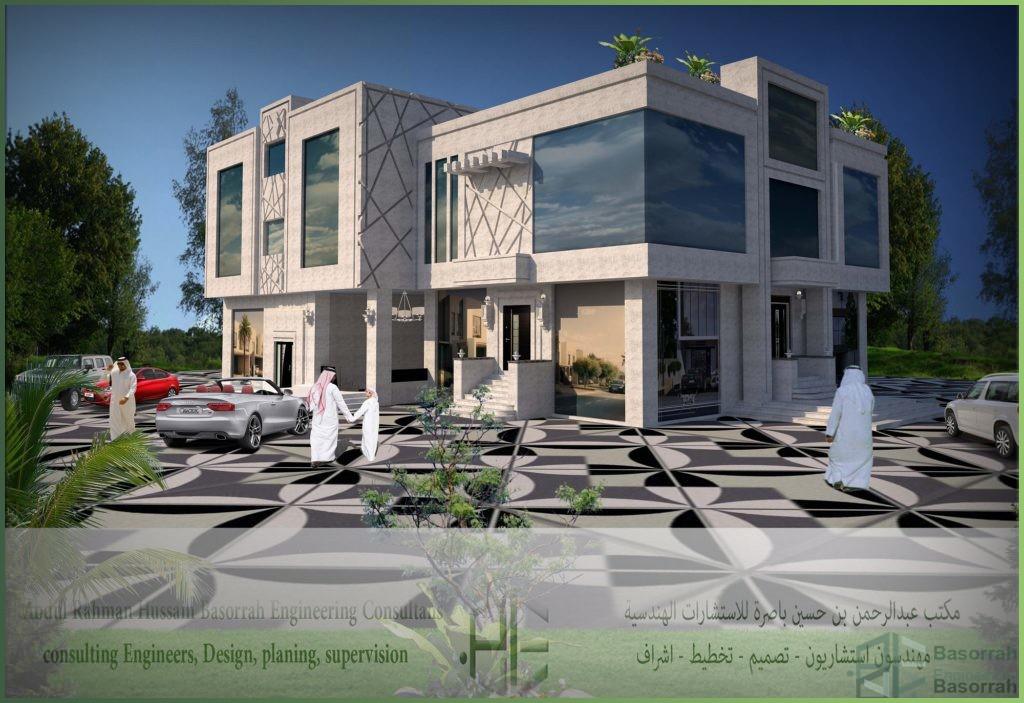 تصميم فيلا سكنية (سيهات)